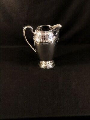 1847 Rogers Bros EPNS Silverplate 1933 Marquise RARE Water Pitcher