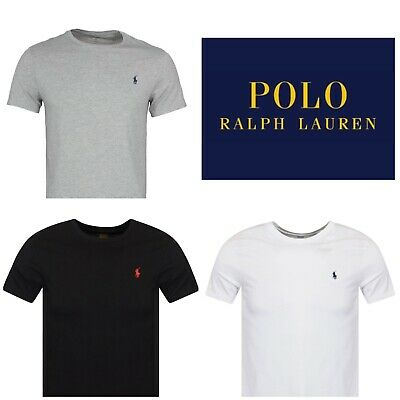 Ralph Lauren Polo Crew Neck T Shirt Top New With Tags All Colours - Spring Offer