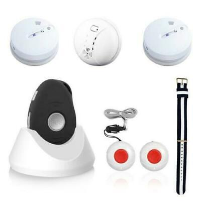 Combi emergency call system for at home and on the way with GPS incl. smoke dete