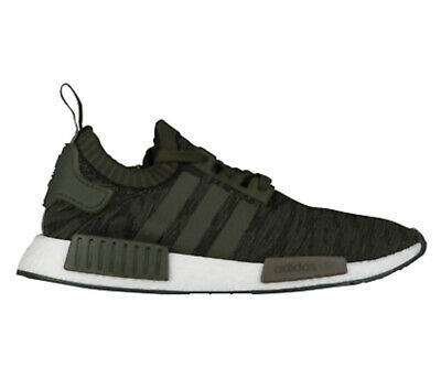 a206a8b735dbb Adidas NMD R1 PK Primeknit Casual Shoes Night Cargo   Green Sz 10.5 CQ2445
