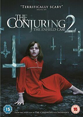 The Conjuring 2 [Includes Digital Download] [DVD] [2016] By Patrick Wilson,Ve.