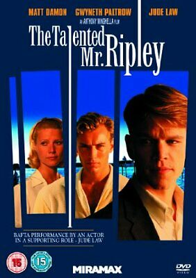 The Talented Mr Ripley [DVD] By Matt Damon,Gwyneth Paltrow.