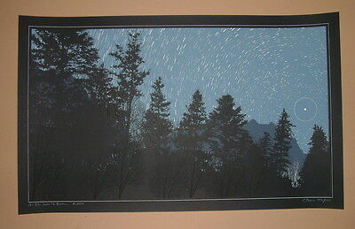 Dan McCarthy As The World Turns Print Signed Numbered Art Glow In The Dark