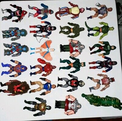 Masters of the universe vintage Lot of 23 figures