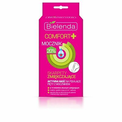 Bielenda Comfort+ Softening Socks Active Ointment for Cracked Hels with 20% Urea
