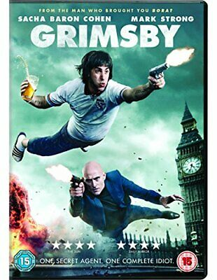 Grimsby [DVD] [2016] By Sacha Baron Cohen,Rebel Wilson.