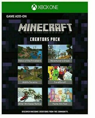MINECRAFT Creators DLC Pack - CODE (game not included)