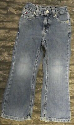 Tommy Hilfiger Blue Denim Jeans Boys Girls Unisex Size 4/4T