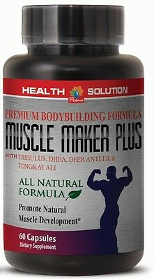 Muscle Boost - MUSCLE MAKER PLUS - Sexual Health - Lean Muscle - 1Bot 60Ct