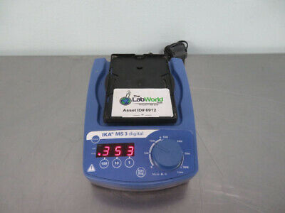 IKA MS3 Digital Microplate Shaker with Warranty SEE VIDEO