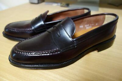 7117f052a81 NIB Alden x Brooks 34379 Unlined  8 Shell Cordovan LHS Loafers 9 D NEW