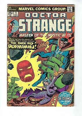 DOCTOR STRANGE # 9 (Cents Issue, AUG 1975), VG-