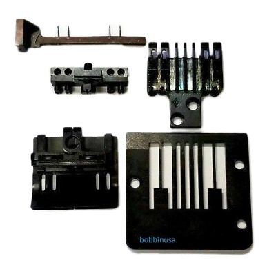 Singer 302 300W Waist Band Foot Plate Needle Clamp Guard Set Size 1/4-1 Inch-1/4