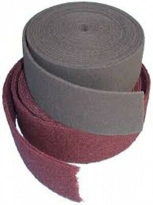 Schleifvliesrolle Non-Woven Roll 115mm x 10 Meter Grain S 1000 Very ,Ultra, Mic