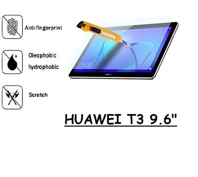 """100%Genuine Tempered Glass Screen Protector Cover For Huawei MediaPad T3 10 9.6"""""""