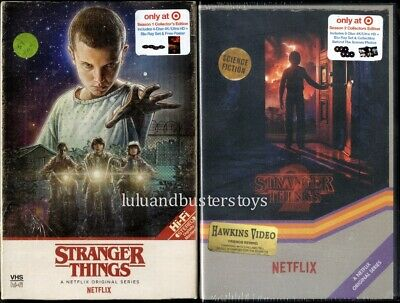 Netflix Collector's Edition STRANGER THINGS Season 1 2 4K Blu Ray Exclusive Set