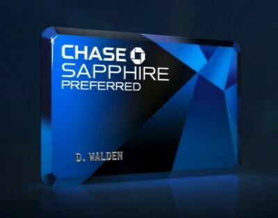 Chase Sapphire Preferred Credit Card Bonus 60K Points Referral+Extra$100 from me