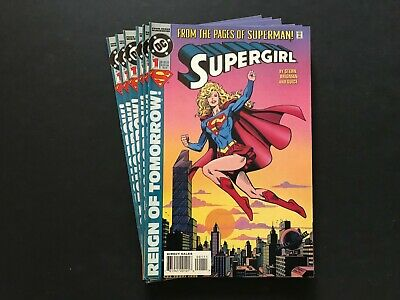 Lot of (6) Supergirl #1 1994 DC Comics Leftover Store Stock BX4