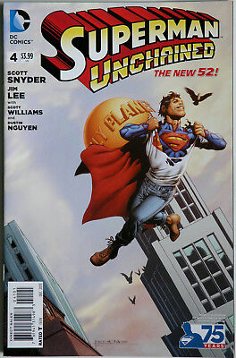 Superman Unchained #4 Rags Morales Variant - DC Comics - Scott Snyder - Jim Lee