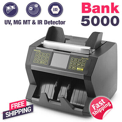 Biosystem Bank Office Money Notes Counter Counting Machine Voice Verification