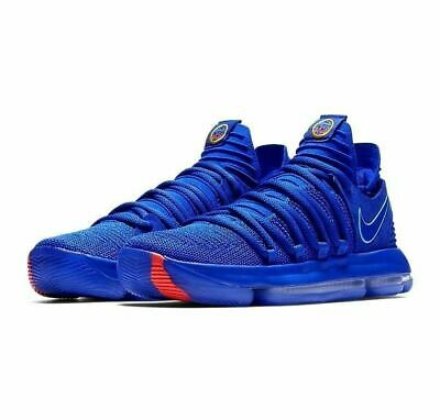 e8e059d1ceb Nike Zoom KD 10 KDX Basketball Shoes Blue