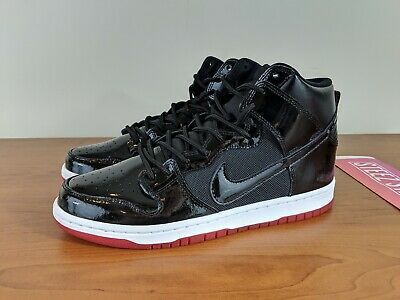 a0ff1391828a Nike SB Zoom Dunk High TR QS Rivals Pack BRED Mens Sneakers AJ7730-001 Size