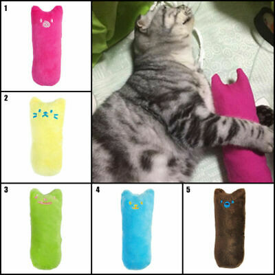 Pillow Scratch Creative Crazy Cat Chew Catnip Toy Teeth Grinding Toys