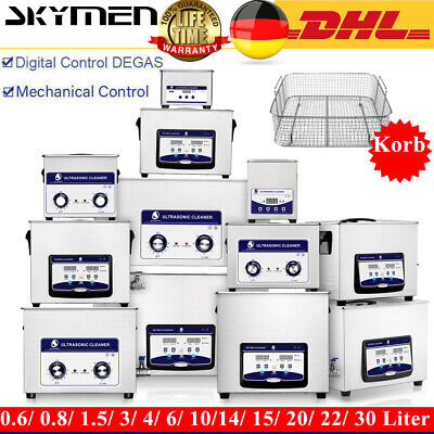 0,8- 30l Ultraschallreinigungsgerät Ultraschallreiniger Ultrasonic Cleaner EU