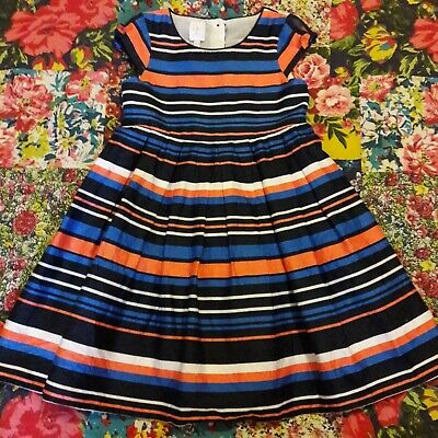 Jasper Conran Age 3-4 Girls Striped Party/Occasion Dress Junior J