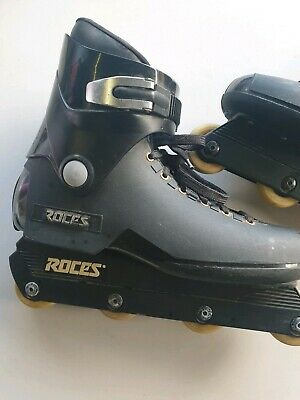 retro Roces Roller Blades Inline Skates MENS  used Size Us 12 Free Post