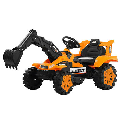 Lenoxx 6V Electric Ride On Outdoor Excavator Tractor/Toy/Kids/Digger/Farm 4y+