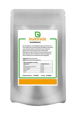Aronia Beere 250g - Frucht - Topping - Superfoods