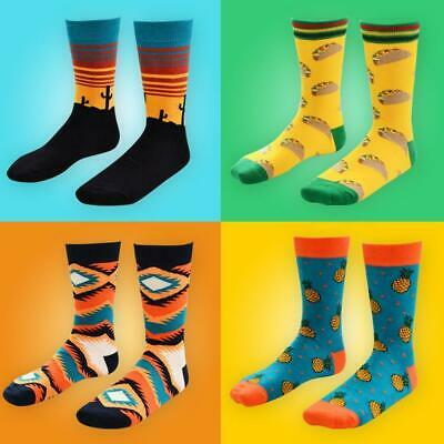 Cotton Happy Socks Warm Gradient Colorful Casual Dress-Socks Sell