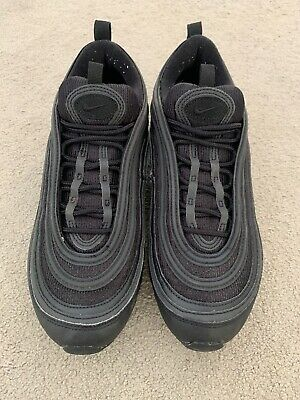 official photos 96d68 a58cd Nike Air Max 97 Ultra  17 Size 8 Triple Black Men s Trainers UK8 Great  Condition