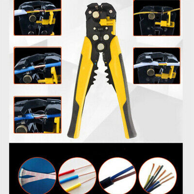 Multifunction Automatic Cable Wire Stripper Cutter Crimper Crimping Plier Tool