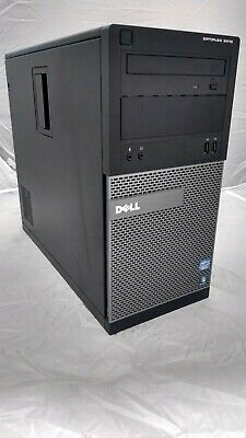 Dell Optiplex 3010 quad core i5 computer with 8GB RAM & dedicated graphics.