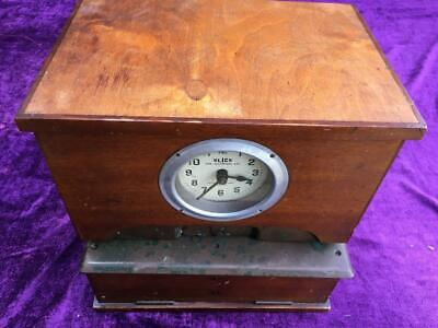 Antique Clocking In Machine - Blick Time Recorders