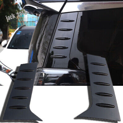 REAR TUBE LED Reflector Exterior Trim For Toyota Harrier Alphard