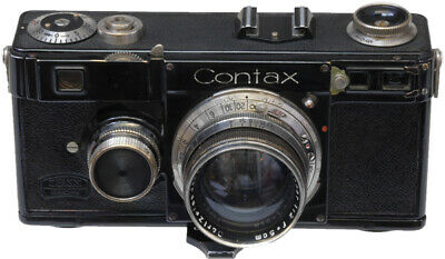 Contax 1E 35mm rangfinder camera with 50mm f2 lens