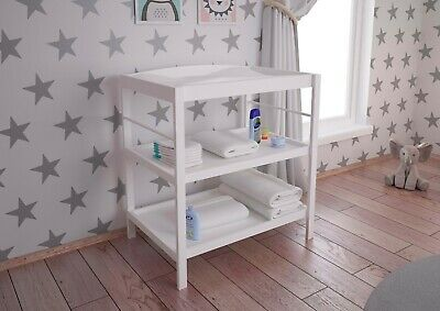 BRAND NEW Baby changing table Polini Kids Simple 1080 natural wood in 3 colors