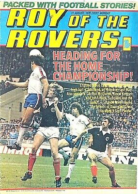 ROY OF THE ROVERS - 11th AUGUST 1979 (6-12 Aug) RARE 40th BIRTHDAY GIFT !! beano
