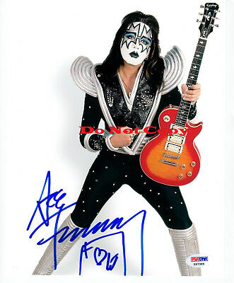 Ace Frehley KISS Signed Autographed 8x10 Photo RP