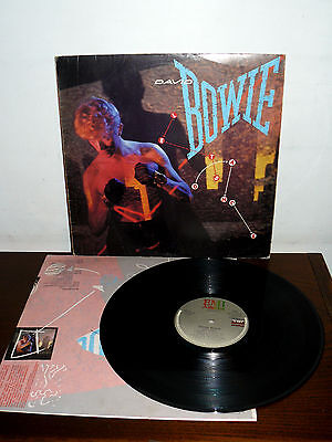 "David Bowie 12"" Lp Let's Dance - Portugal Year 1983 ( Iggy Pop -Moroder-Bowie )"