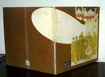 """12"""" Led Zeppelin Ii° Lp Vintage Made In  Italy Gatefold Cover"""