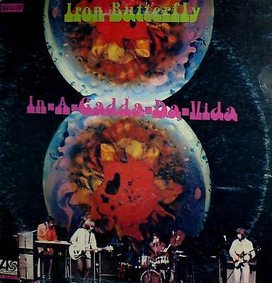 Iron Butterfly In-A-Gadda-Da-Vida  Lp Italy