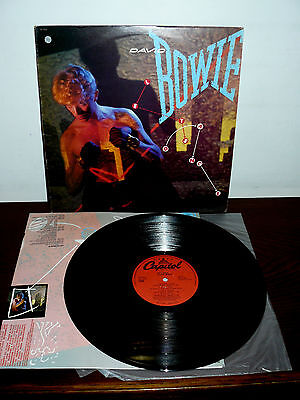 "David Bowie  12"" Lp   Let's Dance   Made In Israel - 1983 - Isdraele"