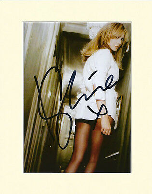 Kylie Minogue Signed Mounted Photo Display #3