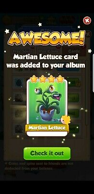 coin master Martian lettuce 5 pounds 15 available