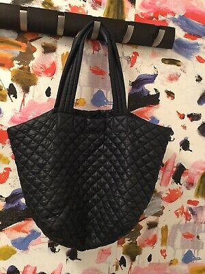 c8ec038ab012 MZ WALLACE QUILTED Metro Tote Bag Medium - Black - $65.00 | PicClick
