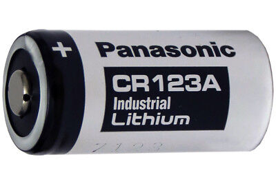 4-Pack Panasonic Industrial CR123A 3 Volt Lithium Batteries (CR17345)